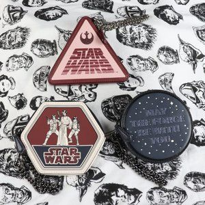 COACH x Star Wars Coin Purse Trio NWT